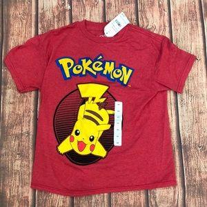 🔥 BOGO SALE Pokémon T Shirt Boy's Xs New Pikachu